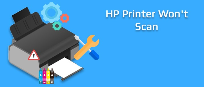 hp printer wont scan