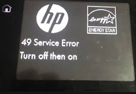 HP LaserJet Printer 49 Service