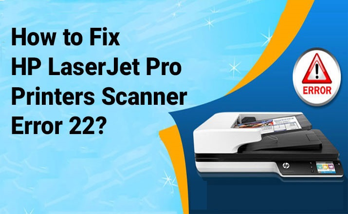 HP LaserJet Pro Printer Scanner