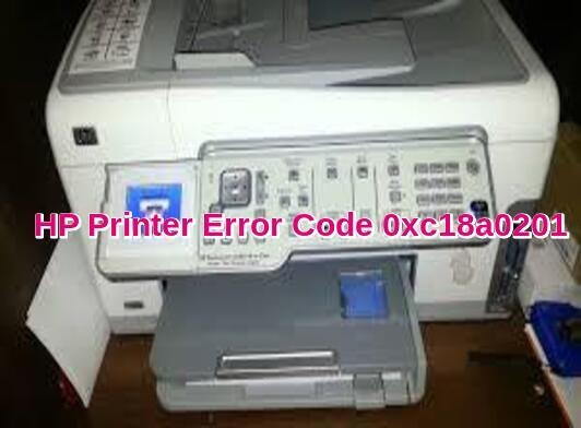 HP Printer Error Code 0xc18a0201