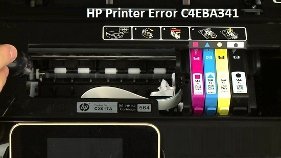 HP Printer Error C4EBA341