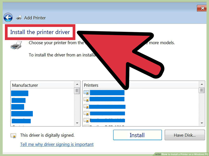 Reinstall the printer software