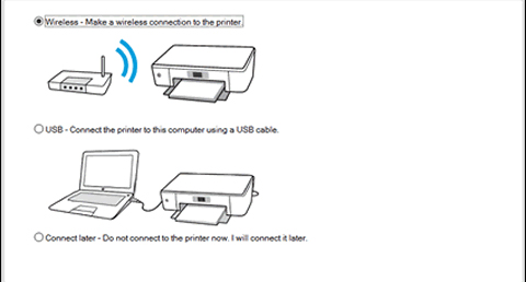 Setup a Wireless HP Printer