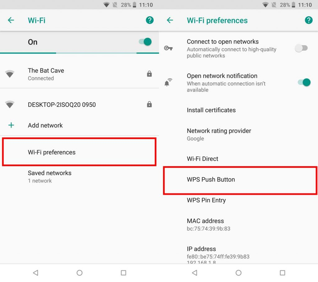How WPS Pin aids in establishing a Connection