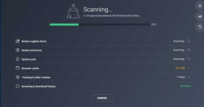 Scan the Operating System with any Repair Tool of your choice