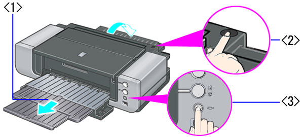 Separate the Ink Cartridges and then follow up with printer resuming