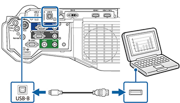 connection and disconnect the USB cable