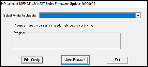 Upgrade the Firmware from the Printer